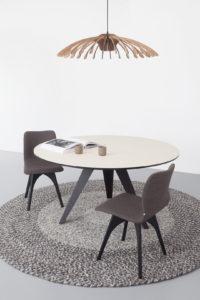 ronde eettafel design