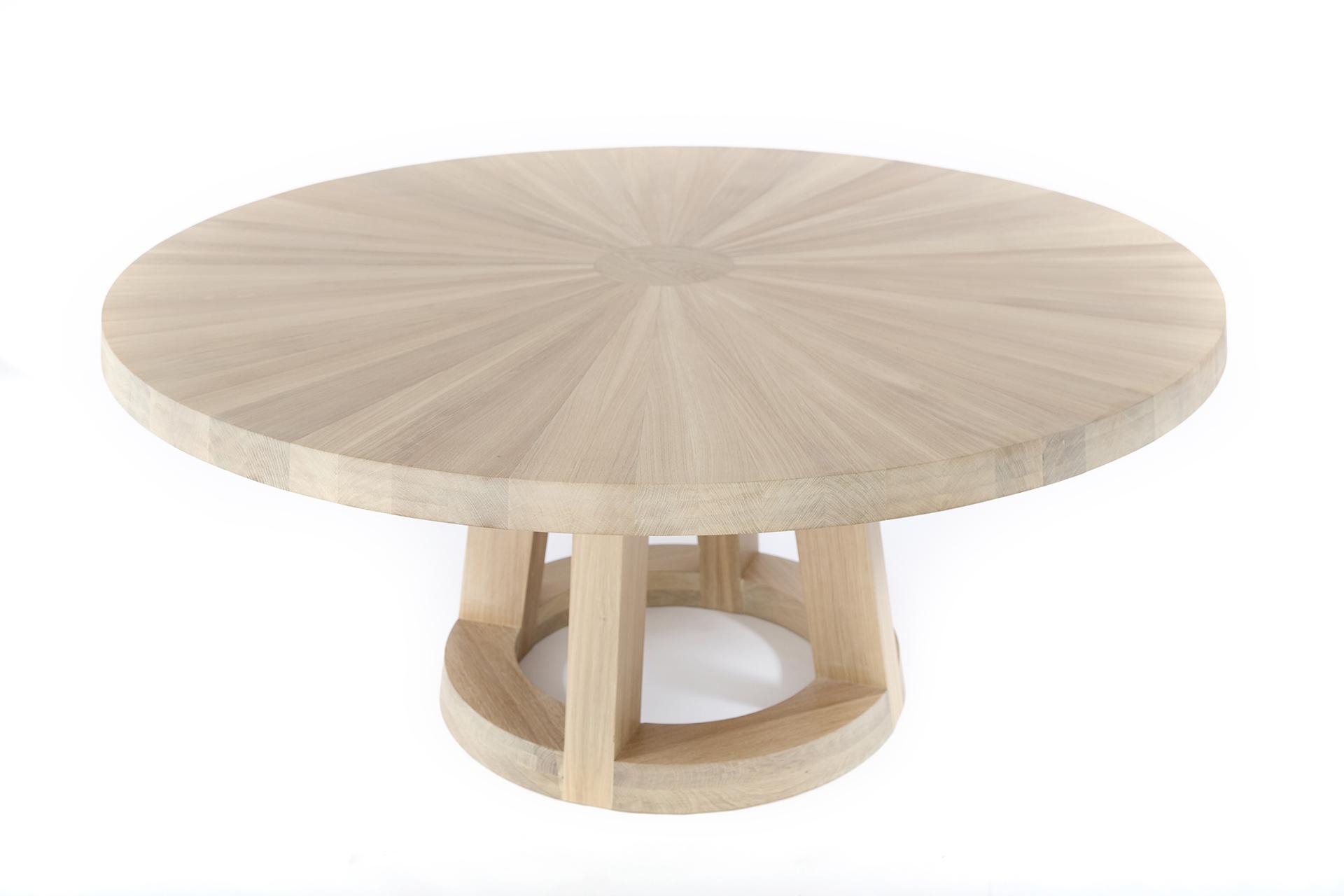 Tafel Remy Meijers : Solid runder design tisch l remy meijers l odesi. your dutch design.