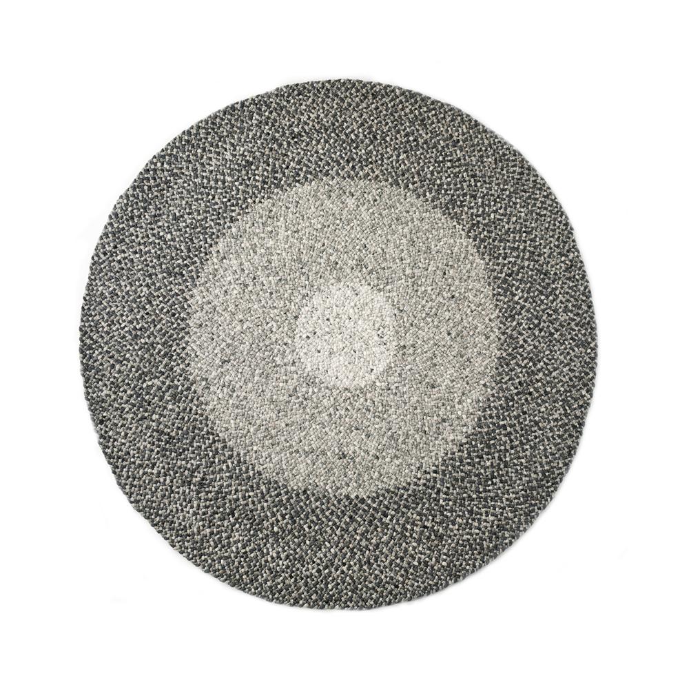Twine karpet gemêleerd grijs